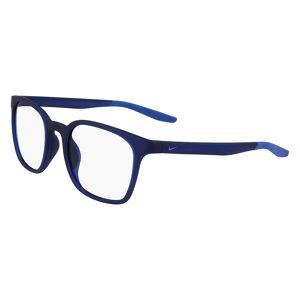 Nike 7115 416 Men's Glasses Blue Size 51 - Free Lenses - HSA/FSA Insurance - Blue Light Block Available