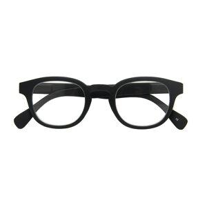 Croon Leesbril Montel Matte Black Men's Glasses Black Size +1.00 - Free Lenses - HSA/FSA Insurance - Blue Light Block