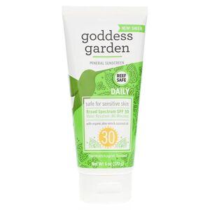 Goddess Garden Organics Daily Mineral Sunscreen Tube SPF 30 6 Oz