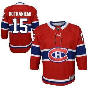 NHL Team Apparel Jesperi Kotkaniemi Montreal Canadiens NHL Premier Youth Replica Hockey Jersey by NHL Team Apparel - Red - Polyester - Size L/XL - IceJerseys