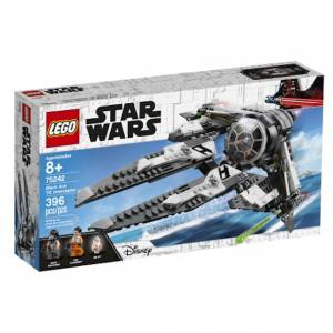 Lego Star Wars - Black Ace TIE Interceptor - Building & Construction for Ages 8 to 12 - Fat Brain Toys