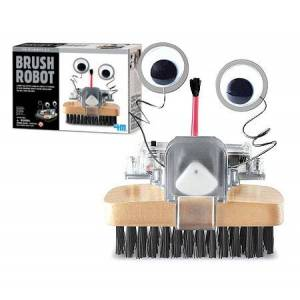 4M, Toysmith 4M Brush Robot - Building & Construction for Ages 8 to 12 - Fat Brain Toys