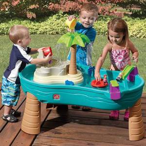 Step2 Company Splish Splash Seas Water Table - Outdoor Toys for Ages 2 to 3 - Fat Brain Toys