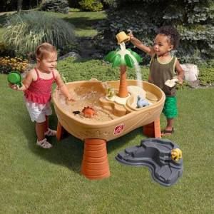 Step2 Company Dino Dig Sand & Water Table - Imaginative Play for Babies - Fat Brain Toys