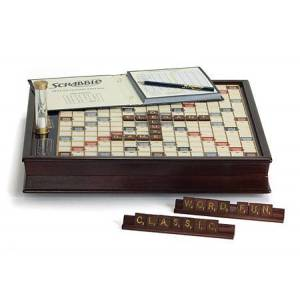 Winning Solutions Scrabble Deluxe Edition -  - Fat Brain Toys