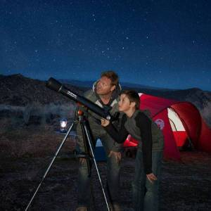Celestron AstroMaster LT 60AZ Refractor - Science & Nature for Ages 10 to 12 - Fat Brain Toys
