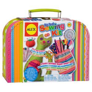 Alex My First Sewing Kit - Arts & Crafts for Ages 7 to 8 - Fat Brain Toys