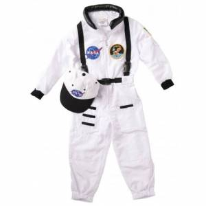 Aeromax Personalized Jr. Apollo 11 Astronaut Suit - Size 2/3 - History & Geography for Ages 3 to 10 - Fat Brain Toys