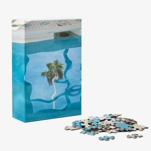 Areaware Puzzle in Puzzle - Pool - Puzzles for Ages 8 to 12 - Fat Brain Toys