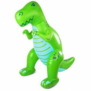 Bigmouth Inc. Giant Dinosaur Yard Sprinkler - Imaginative Play for Ages 3 to 5 - Fat Brain Toys