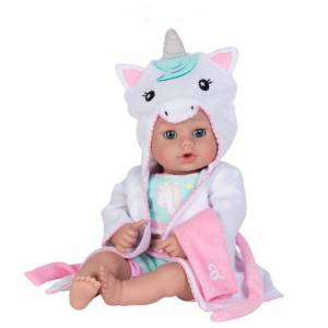 Adora BathTime Baby Unicorn - 13 inch - Bath Toys for Ages 2 to 5 - Fat Brain Toys