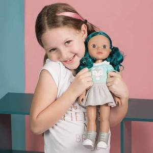 Adora Be Bright Alma Doll - 14.5 inch - Dolls & Dollhouses for Ages 3 to 9 - Fat Brain Toys