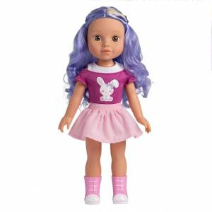 Adora Be Bright Lulu Doll - 14.5 inch - Dolls & Dollhouses for Ages 3 to 9 - Fat Brain Toys