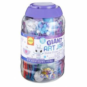 Alex Giant Art Jar - Stellar - Arts & Crafts for Ages 4 to 12 - Fat Brain Toys