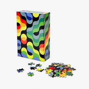 Areaware Pattern Puzzle - Arc - Puzzles for Ages 9 to 12 - Fat Brain Toys