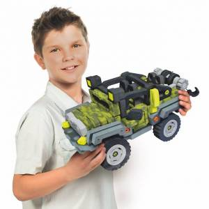 Bloco Vehicle - Wild Wheeler - Building & Construction for Ages 7 to 12 - Fat Brain Toys
