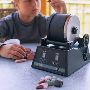 Discover with Dr. Cool Rock Tumbler - Pro Series - Arts & Crafts for Ages 8 to 11 - Fat Brain Toys