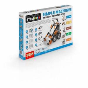 Elenco Electronics, Inc. STEM Simple Machines - Building & Construction for Ages 8 to 12 - Fat Brain Toys