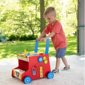 Fat Brain Toys My Fixer Upper Tool Bus - Early Learning Toys for Babies - Fat Brain Toys