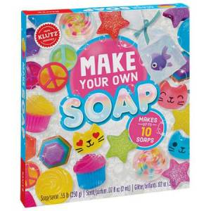 Klutz Make Your Own Soap - Arts & Crafts for Ages 6 to 11 - Fat Brain Toys
