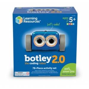 Learning Resources Botley the Coding Robot 2.0 Activity Set - RC & Electronics for Ages 5 to 10 - Fat Brain Toys