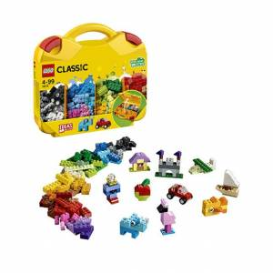 Lego Classic - Creative Suitcase - Building & Construction for Ages 4 to 12 - Fat Brain Toys