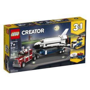 Lego Creator - Shuttle Transporter - Building & Construction for Ages 7 to 12 - Fat Brain Toys