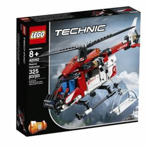 Lego Technic - Rescue Helicopter - Building & Construction for Ages 8 to 12 - Fat Brain Toys