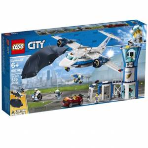 Lego City Police - Sky Police Air Base - Building & Construction for Ages 7 to 8 - Fat Brain Toys