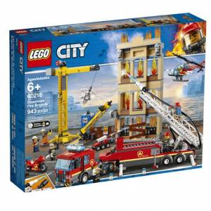 Lego City Fire - Downtown Fire Brigade -  - Fat Brain Toys