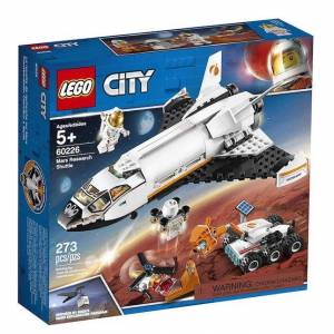 Lego City Space Port - Mars Research Shuttle - Building & Construction for Ages 6 to 12 - Fat Brain Toys