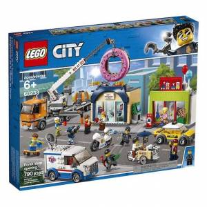 Lego City Town - Donut Shop Opening -  - Fat Brain Toys