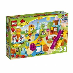 Lego DUPLO Town - Big Fair - Building & Construction for Ages 2 to 5 - Fat Brain Toys