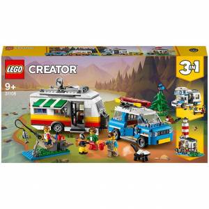 Lego Creator - Caravan Family Holiday - Building & Construction for Ages 9 to 12 - Fat Brain Toys