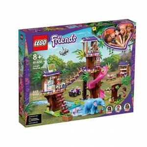 Lego Friends - Jungle Rescue Base - Building & Construction for Ages 8 to 12 - Fat Brain Toys