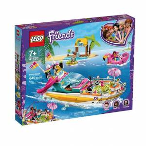 Lego Friends - Party Boat - Building & Construction for Ages 7 to 12 - Fat Brain Toys