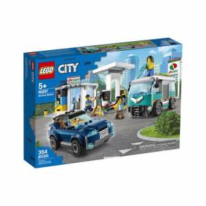 Lego City Turbo Wheels - Service Station - Building & Construction for Ages 5 to 10 - Fat Brain Toys