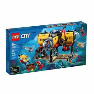 Lego City Oceans - Ocean Exploration Base - Building & Construction for Ages 6 to 11 - Fat Brain Toys