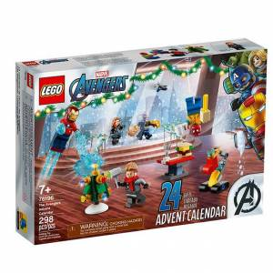 Lego Super Heroes - The Avengers Advent Calendar V39 - Building & Construction for Ages 7 to 12 - Fat Brain Toys