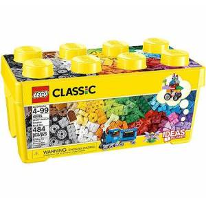 Lego Classic - Medium Creative Brick Box - Building & Construction for Ages 5 to 9 - Fat Brain Toys