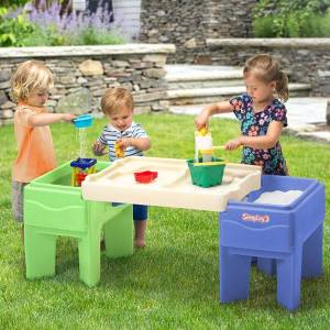 Simplay3 Company In & Out Activity Table - Playroom and Bedroom Furnishings for Ages 2 to 5 - Fat Brain Toys