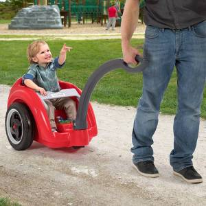 Simplay3 Company Trail Master Wagon - Active Play for Ages 2 to 4 - Fat Brain Toys