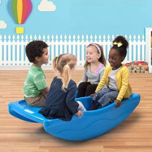 Simplay3 Company Rocking Bridge - Active Play for Ages 2 to 6 - Fat Brain Toys