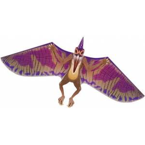 BrainStormProducts DinoSaur Pterodactyl 64 inch Wingspan Kite - Active Play for Ages 8 to 12 - Fat Brain Toys