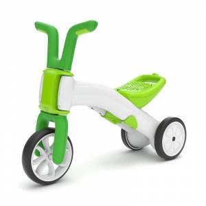 Chillafish Bunzi 2 in 1 Gradual Balance Bike v2 - Lime - Active Play for Babies - Fat Brain Toys