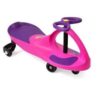 PlaSmart PlasmaCar - Pink & Purple - Active Play for Ages 3 to 5 - Fat Brain Toys