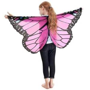 Douglas Dreamy Dress-Ups Monarch Wings - Glitter Pink - Imaginative Play for Ages 3 to 5 - Fat Brain Toys
