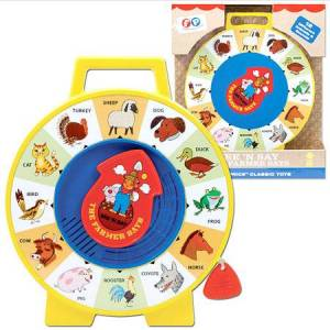 Fisher Price, Schylling Fisher Price See N Say - Baby Toys & Gifts for Ages 2 to 3 - Fat Brain Toys