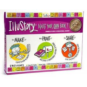 Creations By You, Lulu Jr. IlluStory  - Arts & Crafts for Ages 7 to 8 - Fat Brain Toys