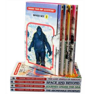 Choose Your Own Adventure - 4 Book Boxed Set #1 - Books for Ages 7 to 9 - Fat Brain Toys